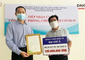 Đại Cát Á và sứ mệnh đóng góp quỹ vắc-xin phòng Covid vì cộng đồng